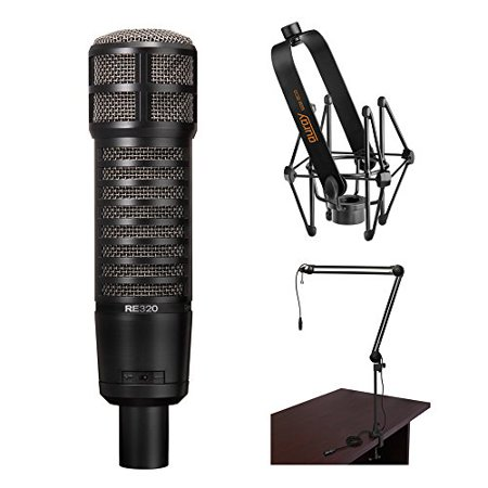 Electro-Voice RE320 Vocal and Instrument Microphone Kit with