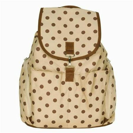 Brave Heart Camping Backpack  Outdoor Daypack & School Backpack  Beige - image 1 of 1