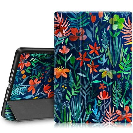 Fintie iPad 9.7 Inch 2018 / 2017 Case, SlimShell Cover for iPad 6th Gen / 5th Gen /iPad Air 2 / iPad Air, Jungle Night