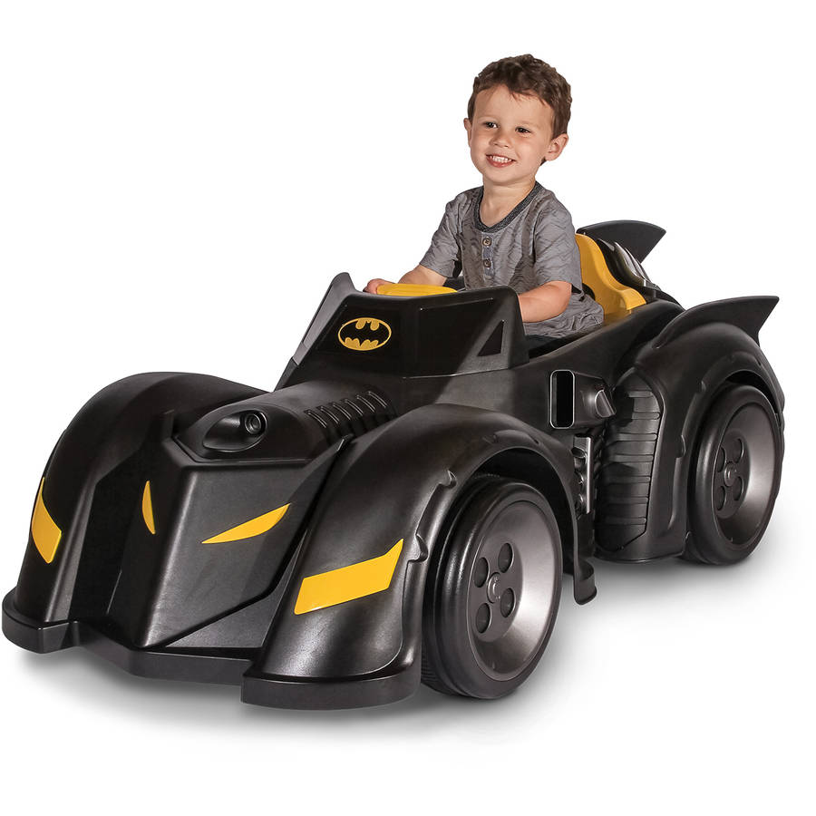 Batman Batmobile 6-Volt Battery-Powered Ride-On by
