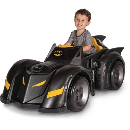 Child Riding Car Battery