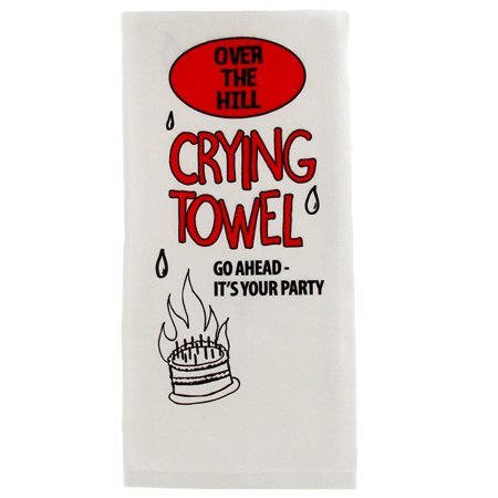 Over The Hill Gifts (Over The Hill Crying Towel, Birthday)