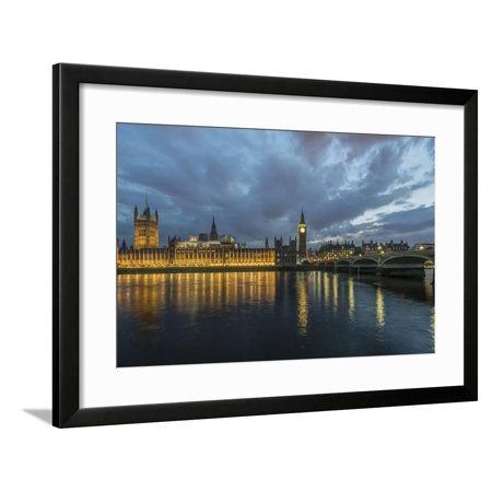 UK, London. Big Ben and Parliament Buildings at sunset Framed Print Wall Art By Rob - Rob And Big Black Halloween Costume