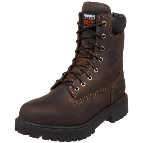 Timberland Pro Men's Direct Attach 8 Waterproof Workboot,Brown,8.5 M by Timberland PRO