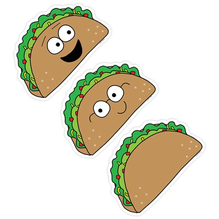 LETS TACO BOUT 6IN DESIGN CUT-OUTS SO MUCH PUN - Luau Puns