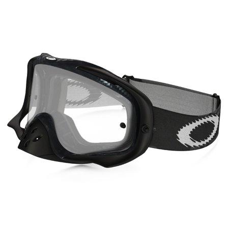 Oakley Crowbar MxPolarized Carbon Fiber W/ Clear Goggles (Oakley Women Ski Goggles)
