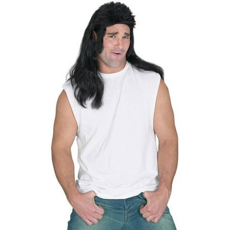 Mullet Over Halloween 2019 (Mullet Flat Top Wig Adult Halloween)