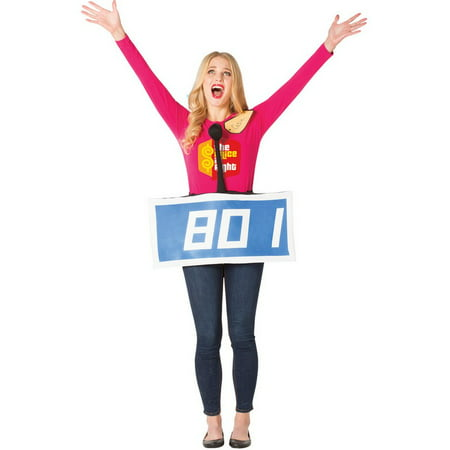 The Price Is Right Contestant Row Neutral Adult Halloween Costume (Everyday Is Like Halloween)