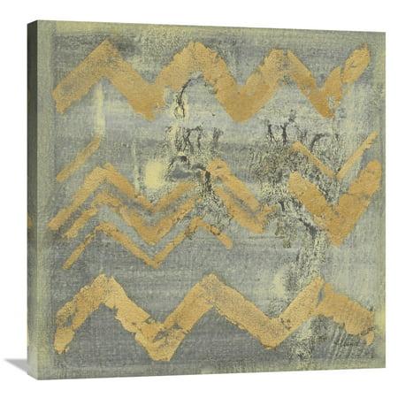 - Global Gallery Albena Hristova 'Gold Tapestry VI' Canvas Wall Art