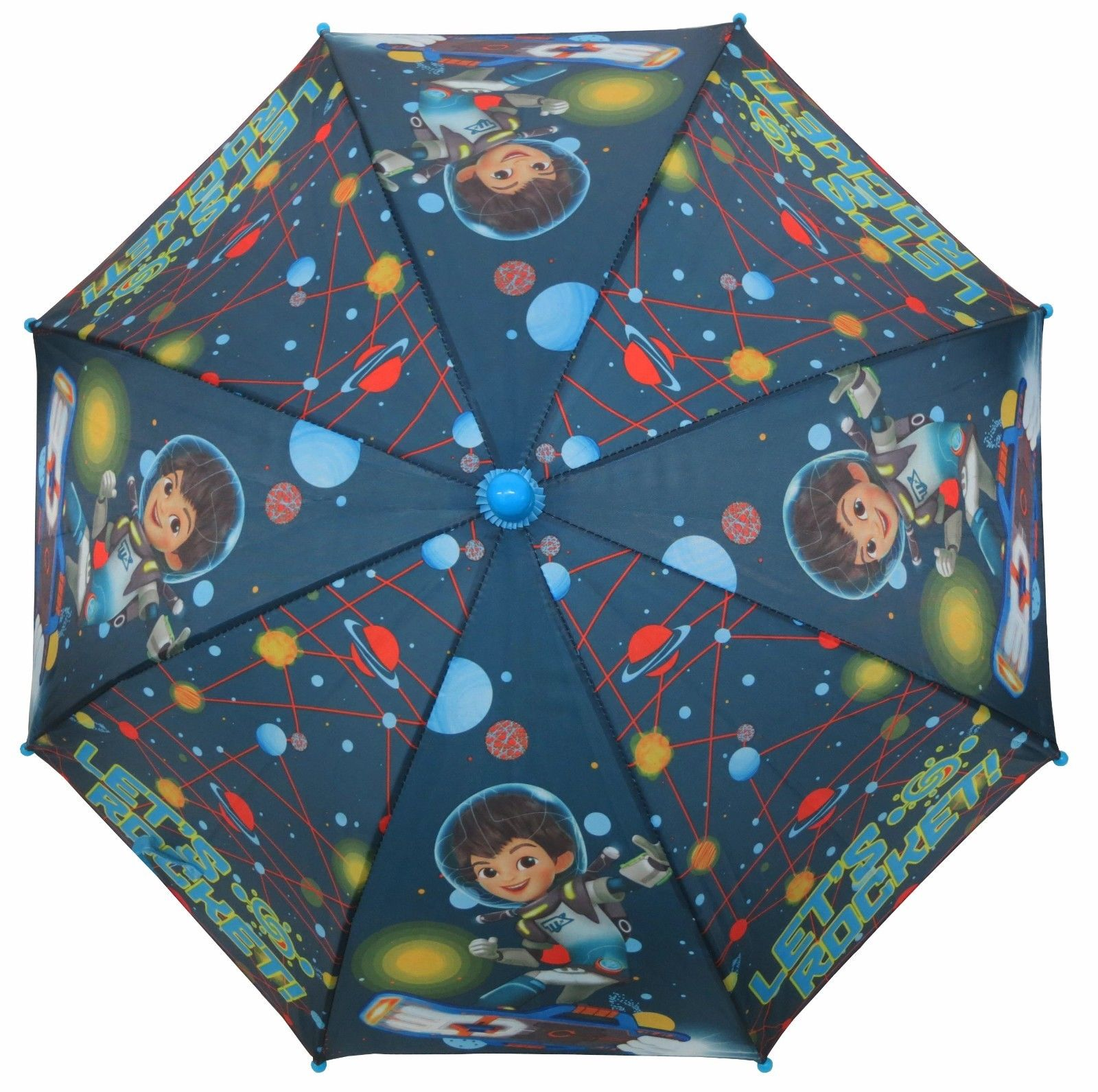 Disney Boys Miles From Tomorrowland Boys Umbrella 3D Handle