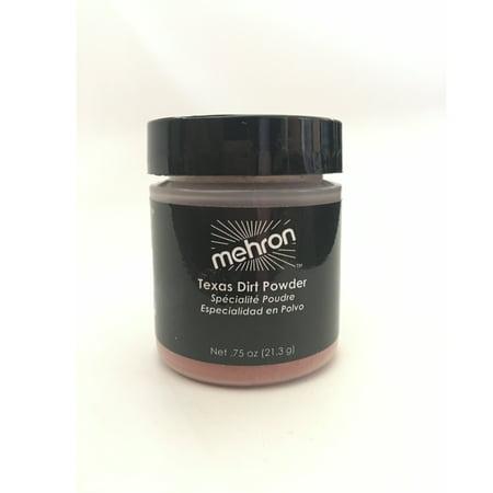 Mehron Texas Dirt Special Effects Makeup Powder (0.75 - Special Effects Halloween Makeup Uk