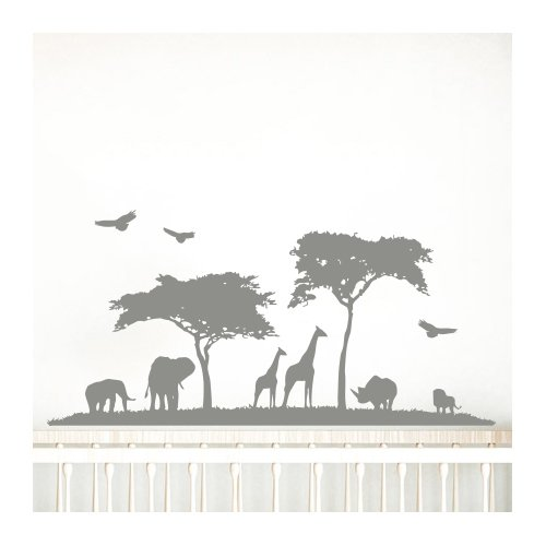 Decal House Safari Nursery Wall Decal
