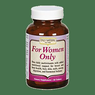 ONLY NATURAL pour les femmes - 60 comprimés