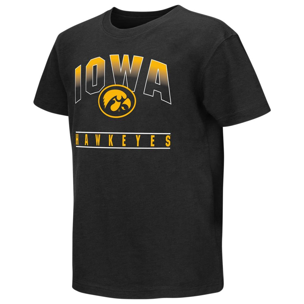 University of Iowa Hawkeyes Youth Golden Boy Short Sleeve Tee