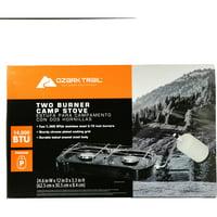Ozark Trail 2 Burner Camp Stove, 14,000 BTU