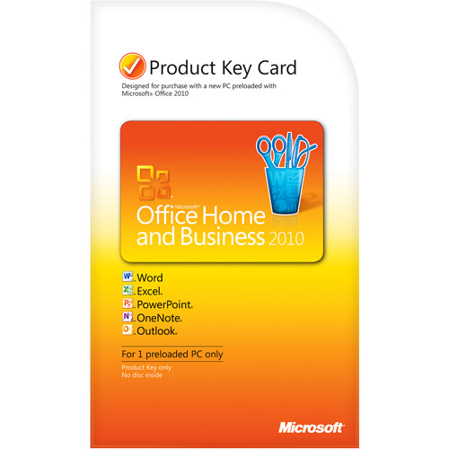 Microsoft Office Home and Business 2010 PKC