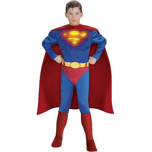 Superman Muscle Child Halloween Costume