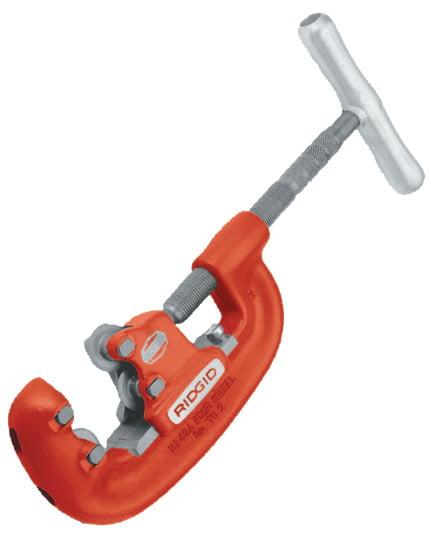 Heavy Duty Pipe Cutter; Heavy Duty 4-Wheel Pipe Cutters by Ridge Tool Company