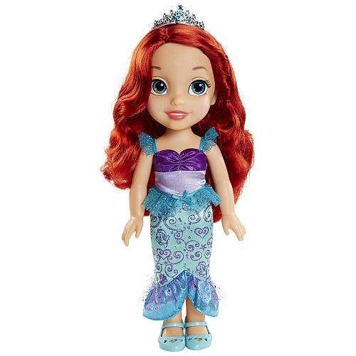 Disney Princess Ariel Toddler Doll - Bright Red
