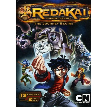 Cartoon Network  Redakai  Volume One   The Journey Begins  Widescreen