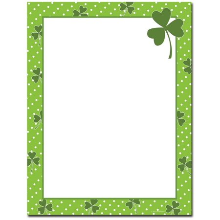 Great Papers 2013226 Clover Dots Letterhead - 80 (12 Double Dot Paper)