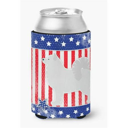 USA Patriotic Samoyed Can or Bottle Hugger - image 1 de 1