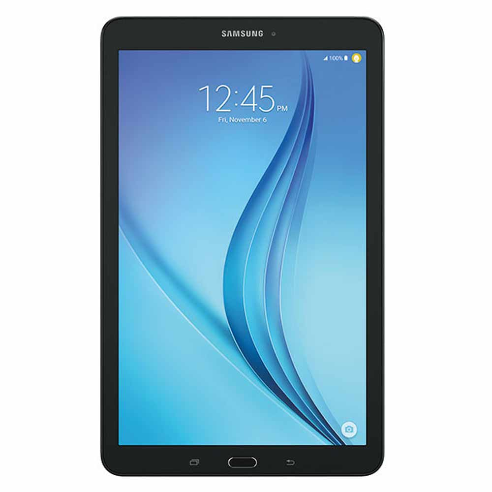 "New Galaxy TAB E 16GB SM-T377A Unlocked 8"" TFT capacitive touchscreen (4G/Wi-Fi) 1.5GB RAM 5MP Camera Tablet by Samsung - Black - USA Warranty"