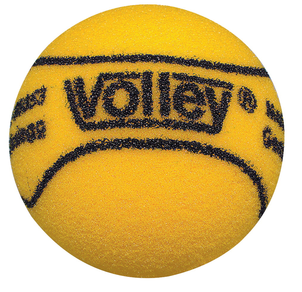 "Volley 1.5"" Uncoated Very High Bounce Foam Balls, Set of 12, Yellow"