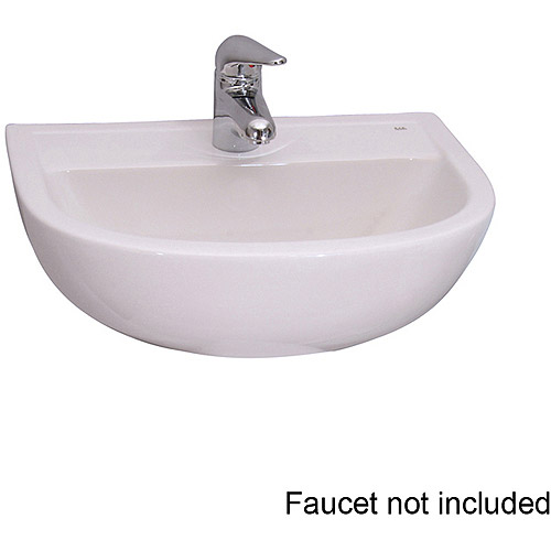 "4-541WH Barclay Compact 20"" Wall Hung Basin with 1 Hole"