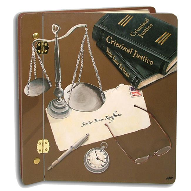 Lexington Studios 12-Album:12031 Scales of Justice Large Album by Lexington Studios