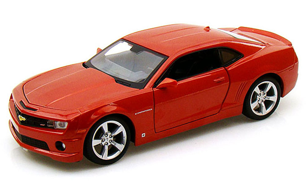 Chevy Camaro SS RS, Orange Maisto 31207 1 24 Scale Diecast Model Toy Car by Maisto