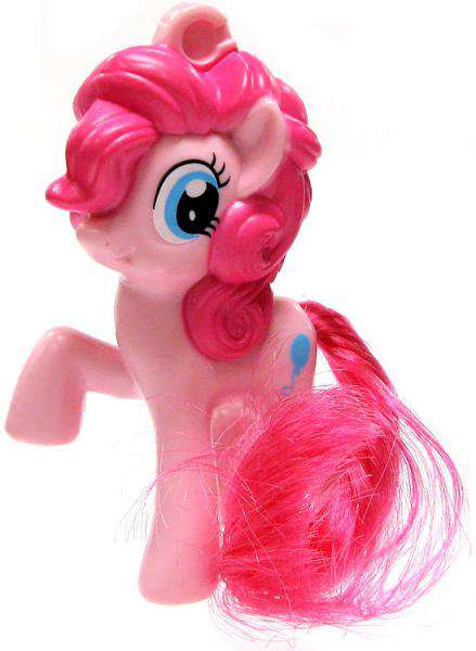 My Little Pony McDonald's Happy Meal Pinkie Pie Clip-On Toy by