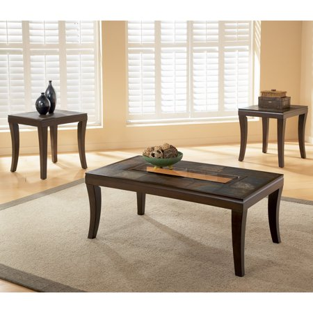 Standard furniture laguna coffee table with 2 end tables - Standard coffee table height ...