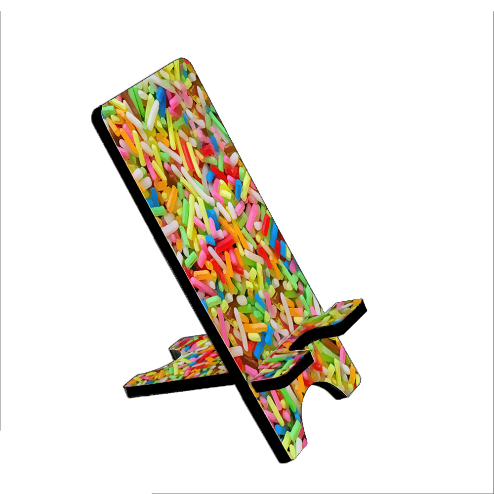 Ice Cream Sprinkles - KuzmarK Folding Stand fits iPad Mini iPhone Samsung Galaxy