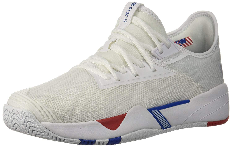 K-Swiss Men's SI-2018 Sneaker, White