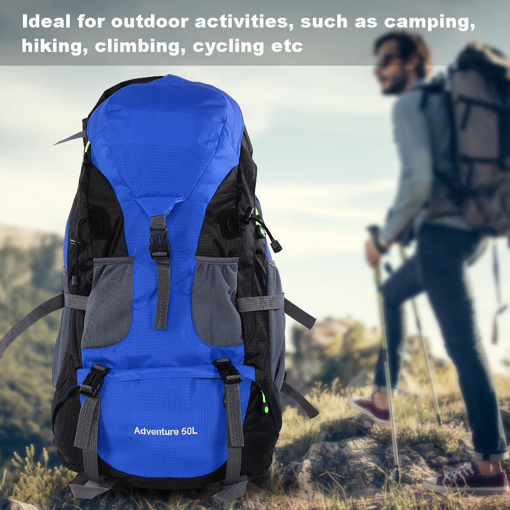 fd8d594f79f5 Qiilu Free Knight 50L Waterproof Bag Camping Climbing Outdoor Travel Hiking  Backpack, Cycling Backpack, Climbing Backpack