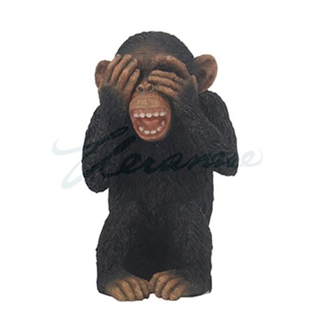 Unicorn Studios WU76437AA Wise Monkey See No Evil Sculpture