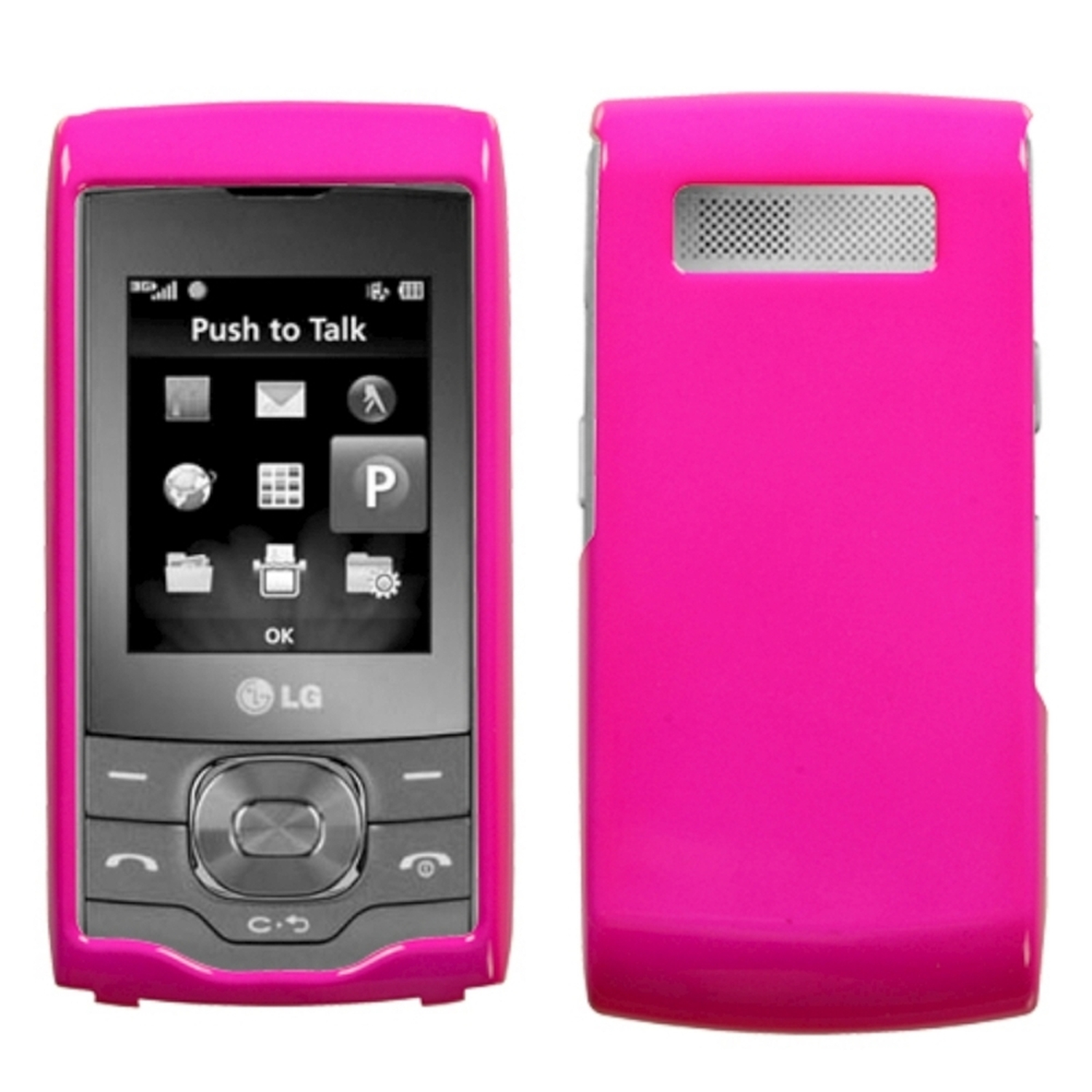 Insten Solid Shocking Pink Phone Case for LG: GU295/GU292