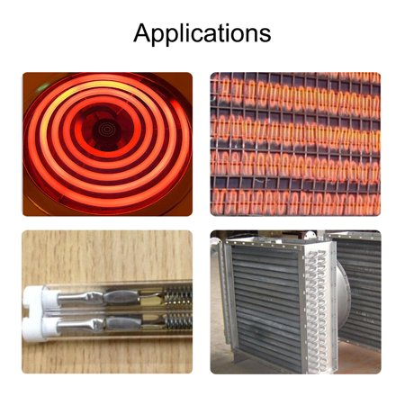 Heating Coil Wire AC220V 1200W / AC110V 300W Heater Wire 5.6mm*480mm 15pcs - image 3 of 4