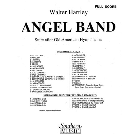 Southern Angel Band (Band/Concert Band Music) Concert Band Level 4 Composed  by Walter S  Hartley