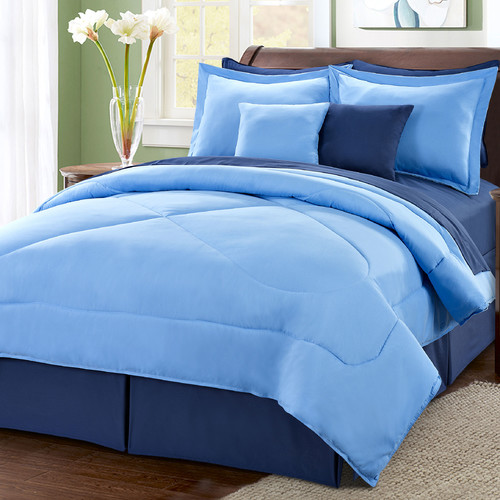 Serenta 10 Piece Reversible Comforter Set
