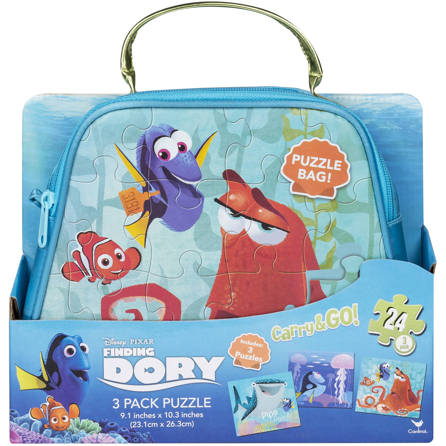 Finding Dory Carry and Go, 3 Pack Puzzle