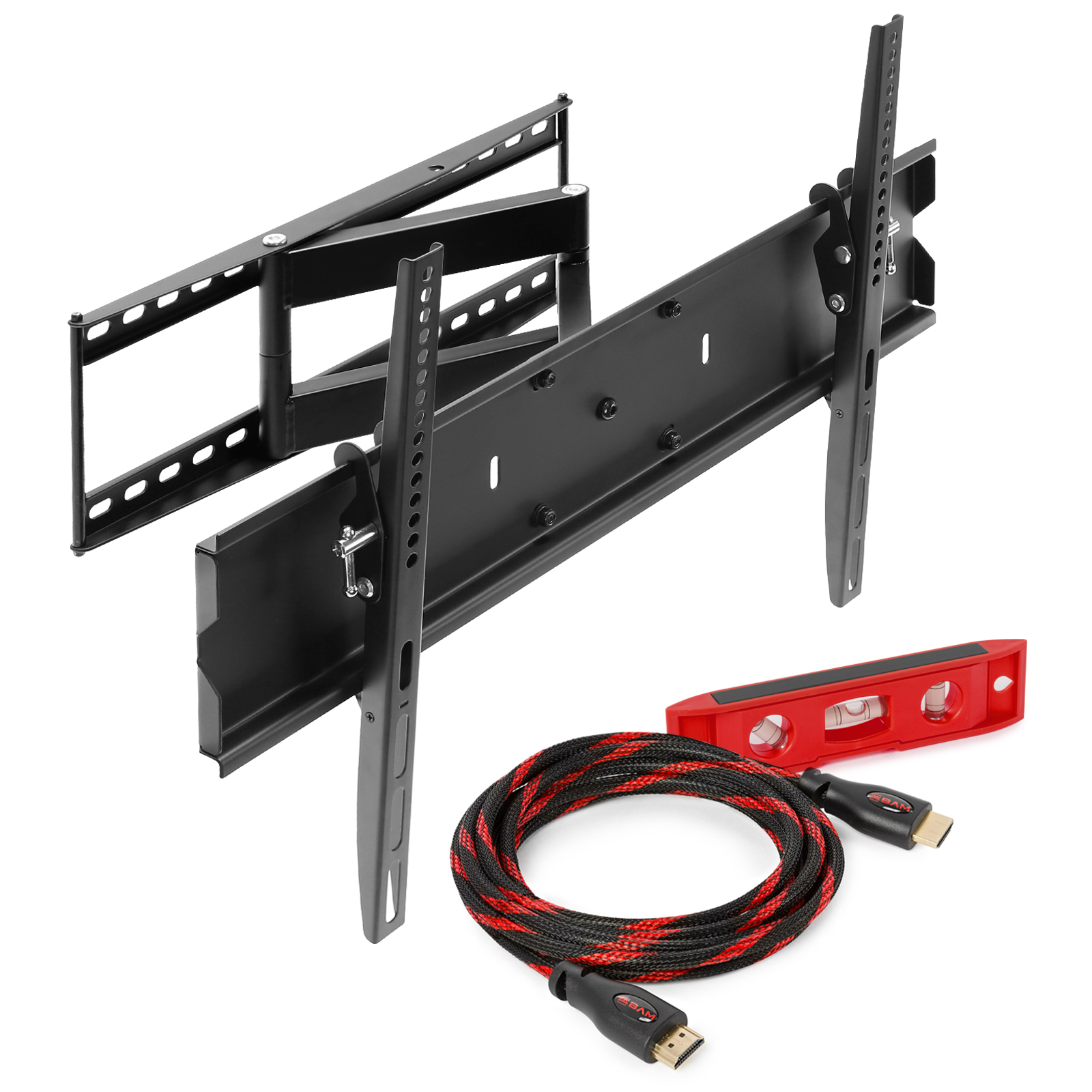 Mount Factory Articulating Tilting TV Wall Mount For 40 in. - 65 in. TVs