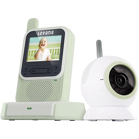 levana clearvu digital video baby monitor with color changing nightlight. Black Bedroom Furniture Sets. Home Design Ideas