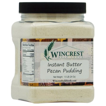 Butter Pecan Instant Pudding Mix - 1.5 (24 Oz )