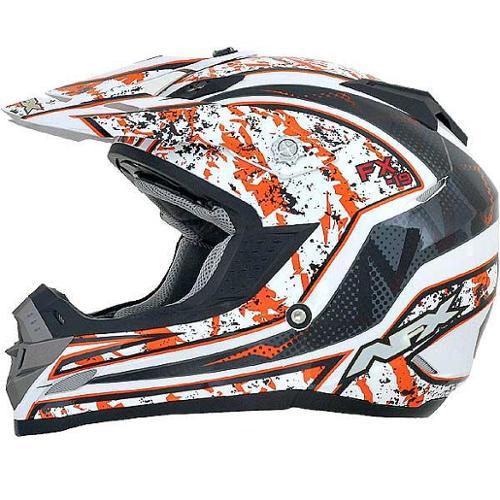 AFX FX-19 Vibe MX Helmet Orange
