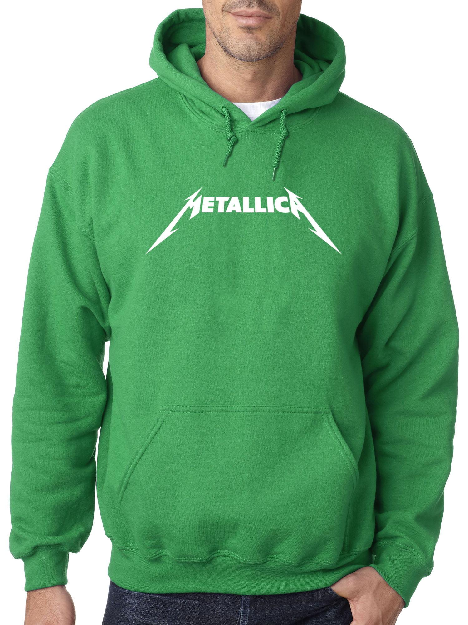 Metallica Metal Rock Band Logo Unisex Hoodie Adult Sizes S-XL Black