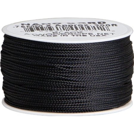 Sale Parachute Cord (RG1037-BRK Nano black, Category name: paracord-accessories By Parachute Cord )