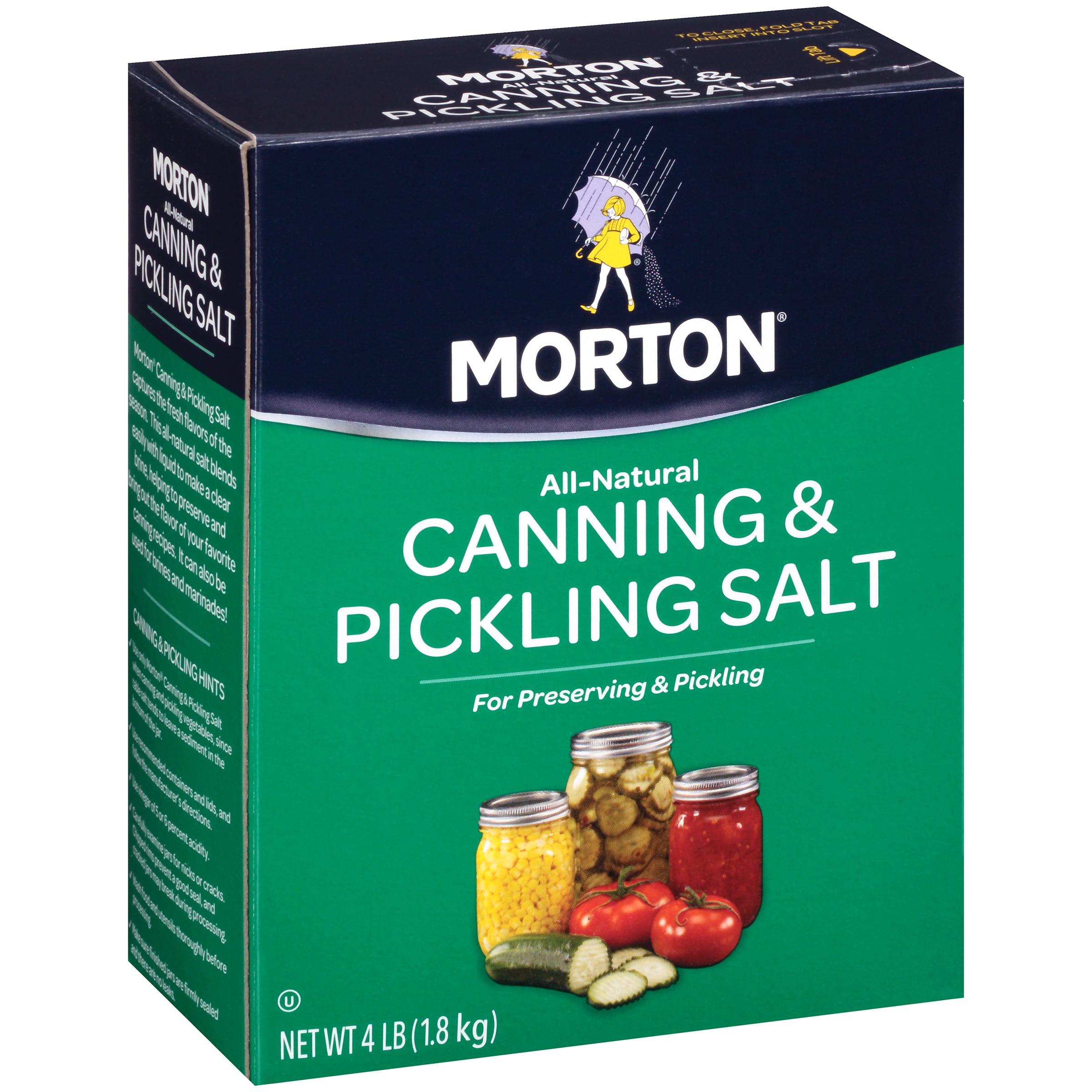 Morton Canning & Pickling Salt , 4 lbs by Morton Salt, Inc.