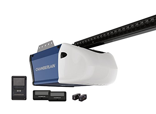 Chamberlain PD512 Garage Door Opener, � HP, Durable Chain Drive Operation, Includes 2-1... by